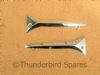 Nacelle Flashes, Pair, Triumph Pre-Unit 1960-62, Unit 1957-1966, H877 H878, UK